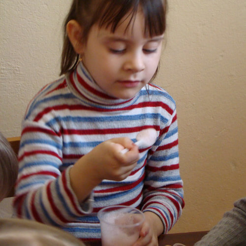 Курс кислородных коктейлей в детском саду