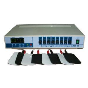 Аппарат для электромиостимуляции  АЭСТ-01 восьмиканальный
