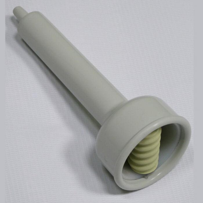 Насадка с одним магнитным роликом для вакуумного массажера МВТ-01. фото 2