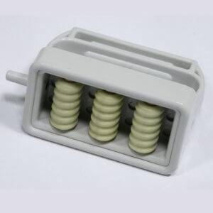 Насадка с тремя магнитными роликами № 1 для вакуумного массажера МВТ-01