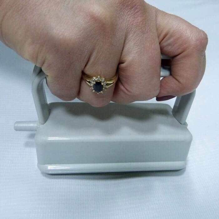 Насадка с тремя магнитными роликами № 1 для вакуумного массажера МВТ-01. фото 4